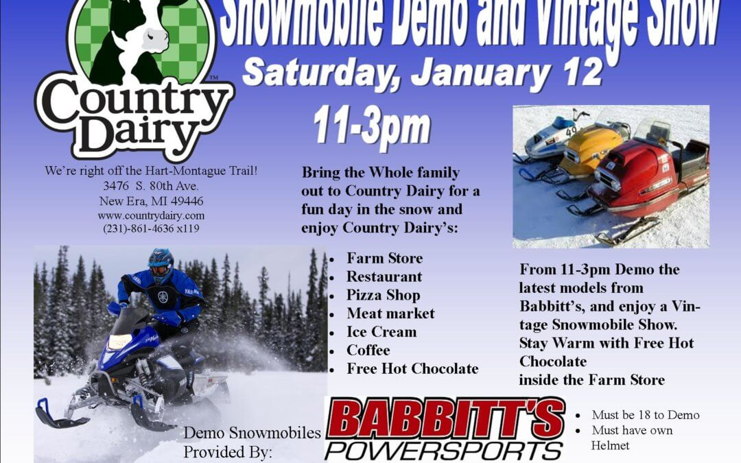 Snowmobile Demo and Vintage Show
