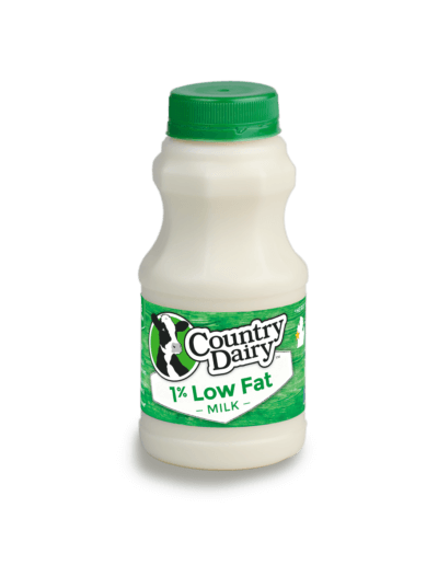 1% Low Fat Milk - Half Pint