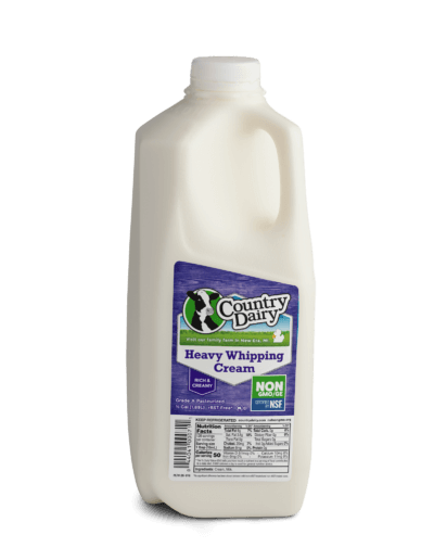 Heavy Whipping Cream - Half Gallon